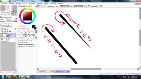 paint tool sai tutorial pintar tutorial sai paint tool taringa