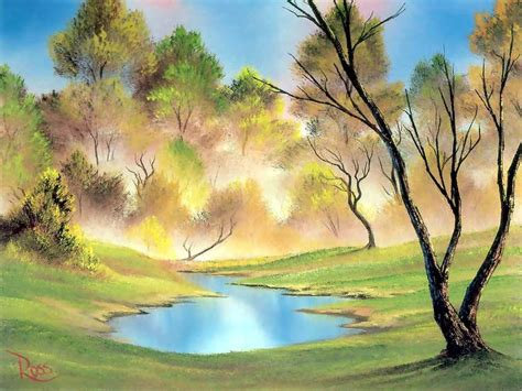 bob ross painting landscape bob ross landscape painting bob ross