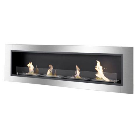 Bathtub Renovation accalia series recessed ethanol fireplace newbathroomstyle