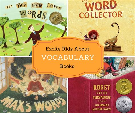 vocabulary picture book books for vocabulary books