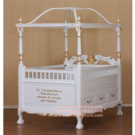 classic baby cribs classic canopy baby crib furniture
