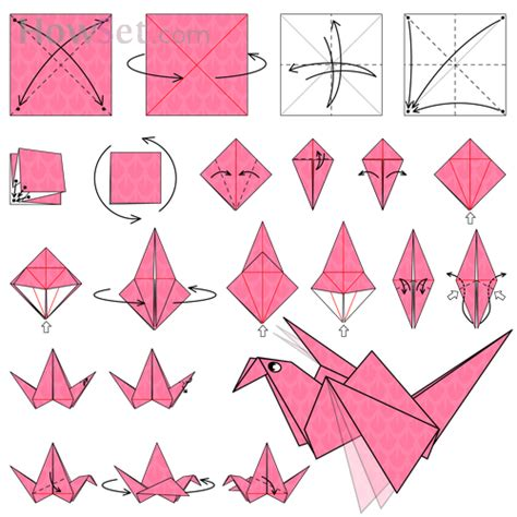 Best 25 Origami Flapping Bird Ideas On
