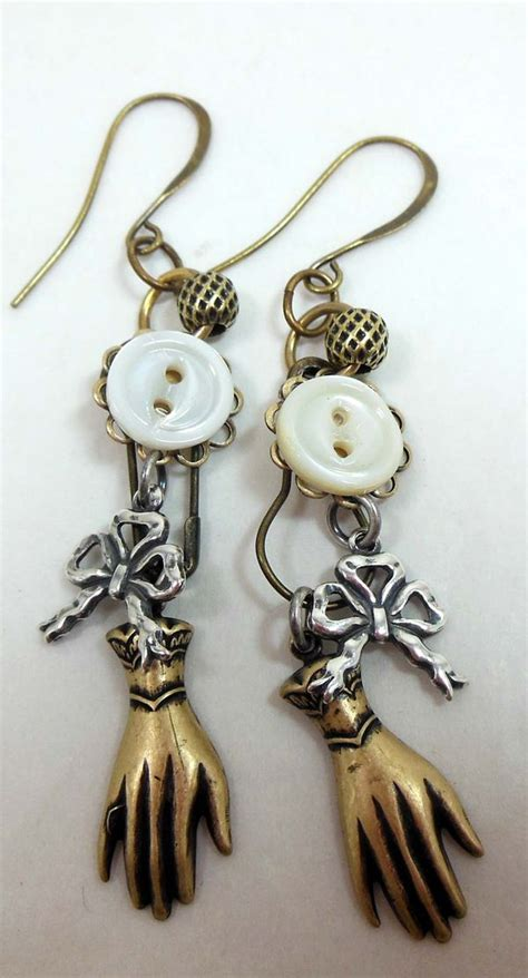 jewelry you can make mixed metal minis cool earrings you can make in minutes