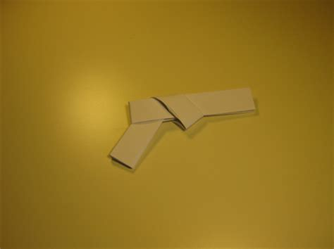 origami paper gun wyman metts how to make origami gun for