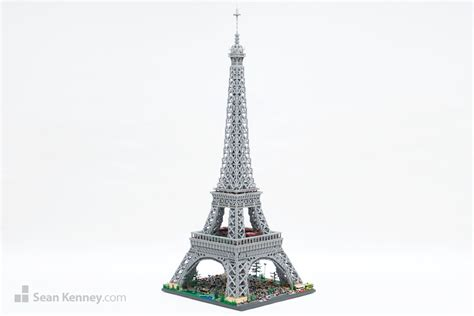 home of the eifell tower kenney with lego bricks eiffel tower