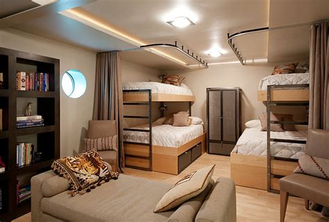 bunk beds bedroom bedroom bunk beds lake union floating home seattle by