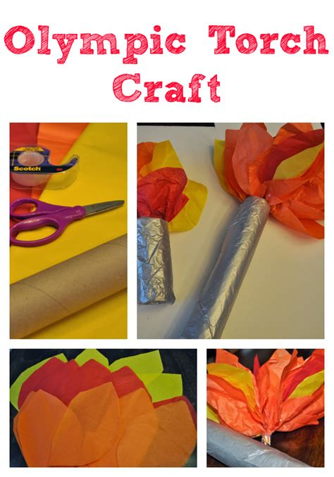olympic crafts for olympics torch craft for torches olympics and craft