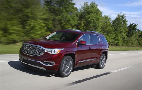 Gmc Acadia Review by Gmc Acadia Denali Reviews Autos Post