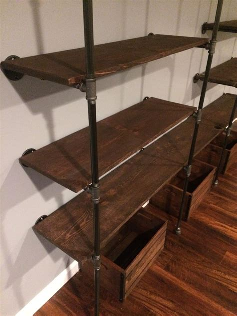 galvanized pipe bookshelves 100 galvanized pipe bookshelves diy industrial iron
