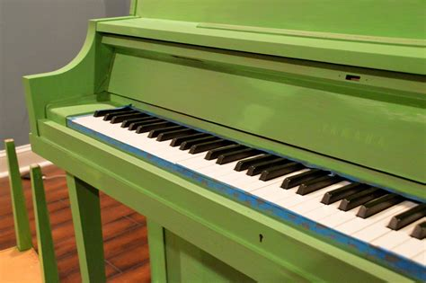 chalk paint piano green painted piano sloan chalk paint east coast