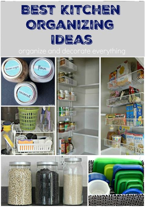 organising ideas 10 of the best kitchen organizing ideas organize and