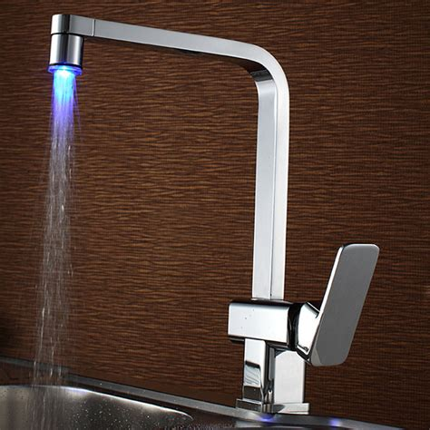 overstock faucets kitchen sumerain led kitchen faucet contemporary kitchen