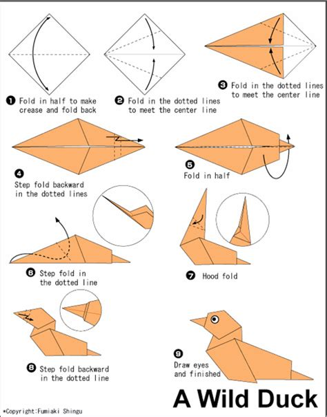 origami animals diagrams origami animals easy myideasbedroom