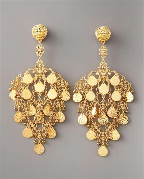 filigree chandelier earrings jose barrera gold filigree chandelier earrings