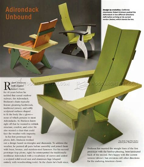 Folding Adirondack Chair Plans by Adirondack Chair Plans Woodarchivist