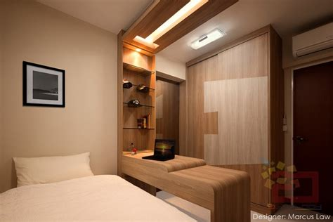 Master Bedroom Closet Design 10 stylish hdb bedrooms in singapore you won t mind