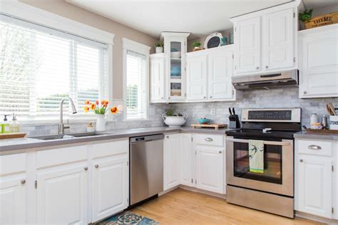 cheap white kitchen cabinets kitchen cabinets after white cabinets cheap gread white