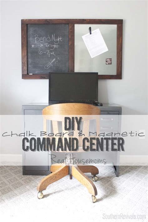 diy chalkboard message board diy message board command center southern revivals