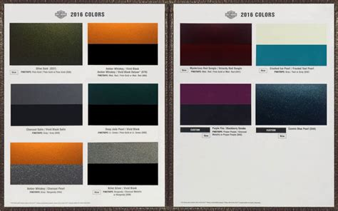 paint colors harley ppg motorcycle paint codes colors autos post