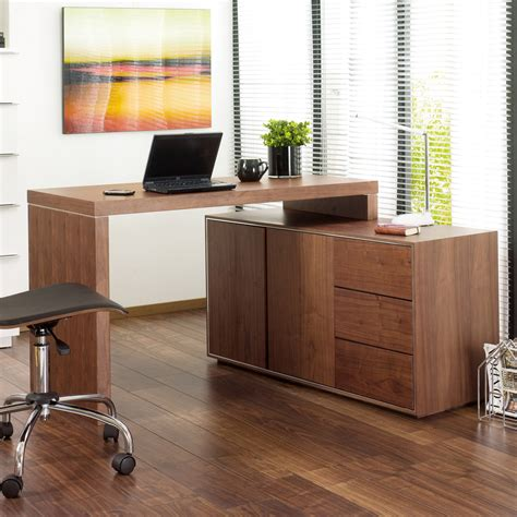 walnut office desks executive office desk walnut dwell