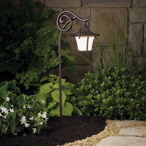 landscape path lighting cotswold aged bronze 25 inch one light landscape path