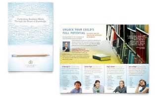 academic tutor amp brochure template word amp publisher