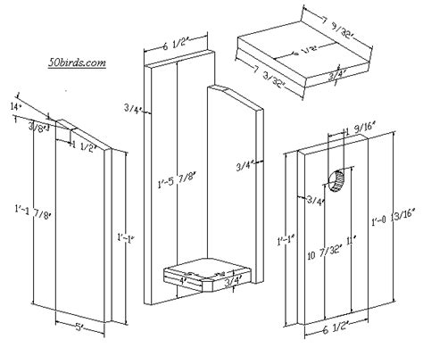 mountain bluebird house plans will a bluebird house dimensions work for chickadees and