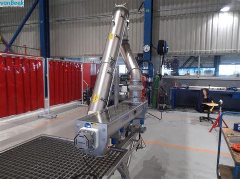 rubber sts ch beek massastromen in schroeftransporteurs beheersen