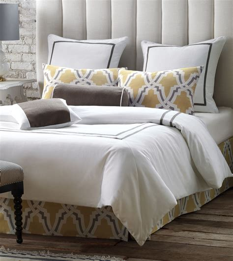 white bedding niche luxury bedding by eastern accents autry white