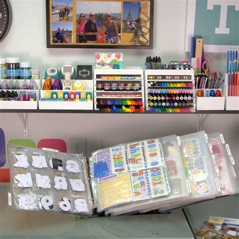 organizing card supplies scraprack organize craft supplies scrapbooking card