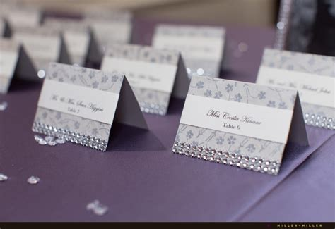 how to make wedding place cards wedding reception place cards lilbibby