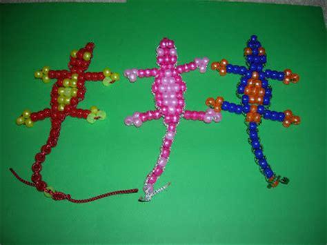 pony bead lizard beaded lizard pattern free patterns