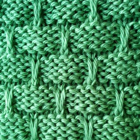 basket weave knit pattern slip stitch basketweave stitch purl avenue