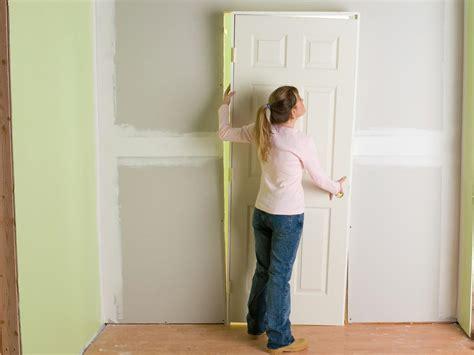 diy hanging door how to install interior pre hung doors how tos diy