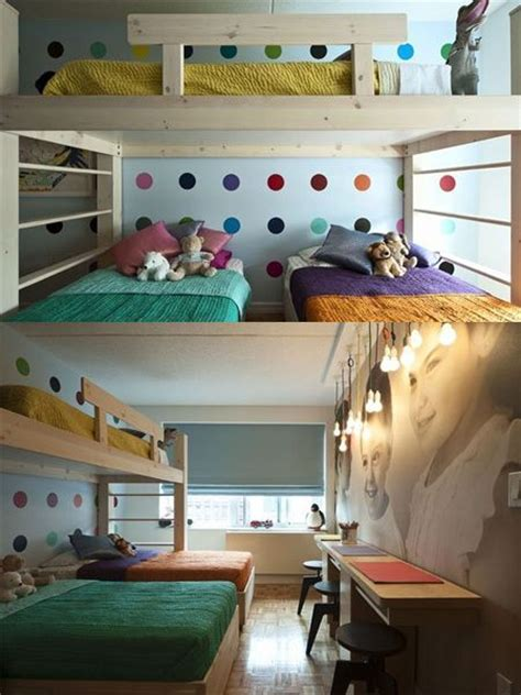 bunk beds for 3 or more 124 best bunk beds images on nursery bedroom