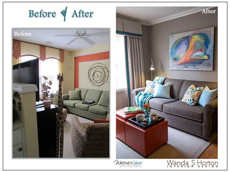 before after modern cottage in a modern cottage story furniture corporation