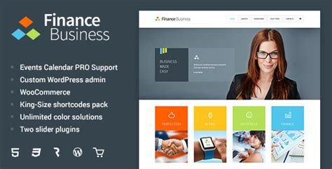 company themes finance business company office corporate theme by