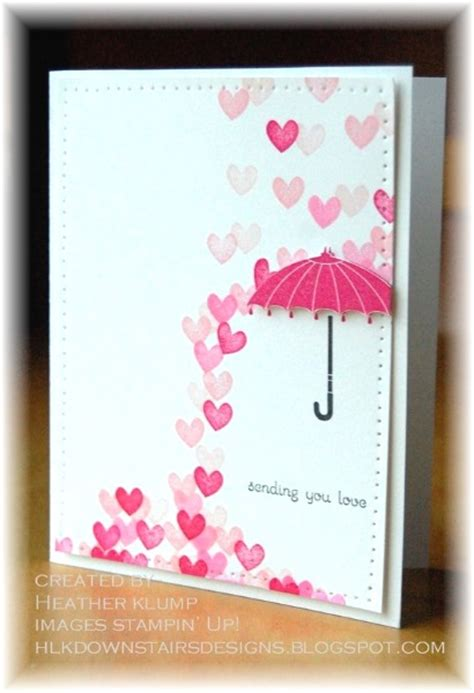 designs for cards adorable valentines day handmade card ideas pink lover
