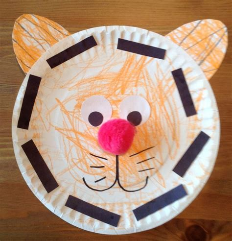 tiger crafts for pin by erin denney on preschool crafts activities