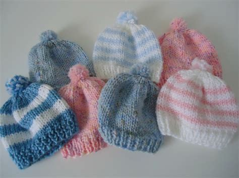 knit newborn baby hats free patterns knitting newborn hats for hospitals the make your own zone