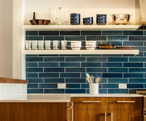 subway tile colors kitchen 25 best ideas about blue subway tile on blue