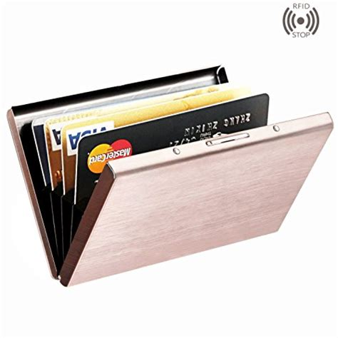 how to make a card wallet best rfid blocking credit card holder maxgeartm stainless