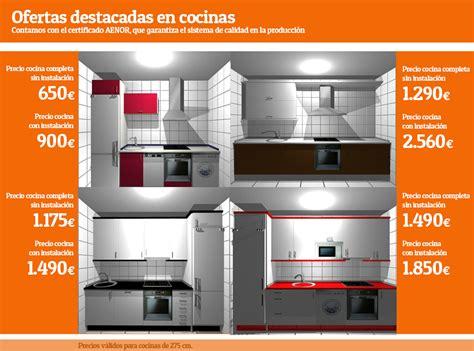 oferta muebles de cocina ofertas en cocinas en ch decora