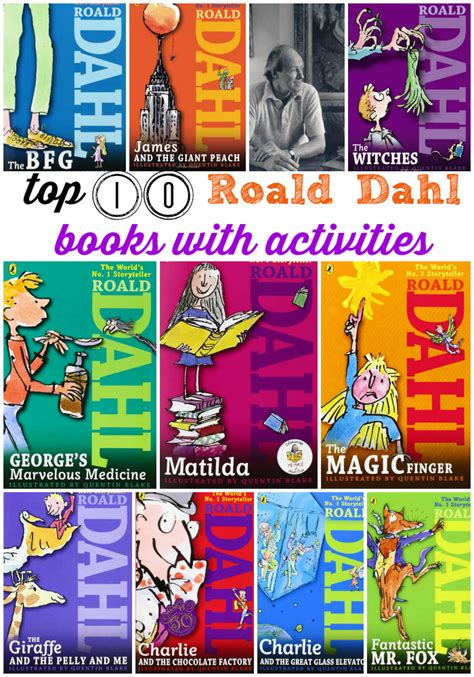 pictures of roald dahl books roald dahl books