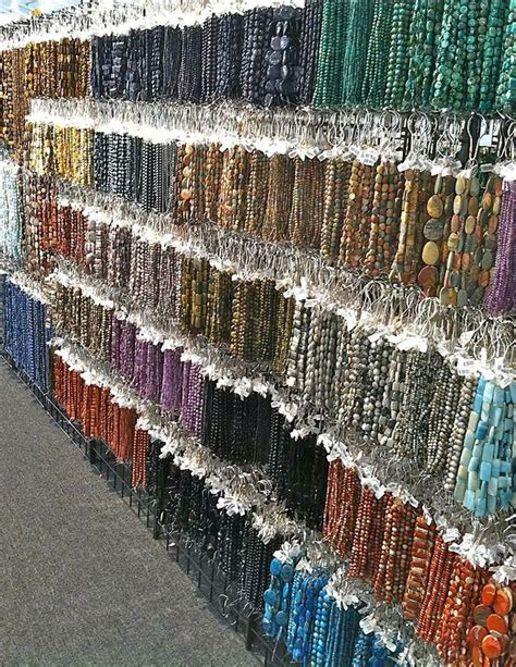 Rows And Rows Of At The 2014 Tucson Gem And Mineral