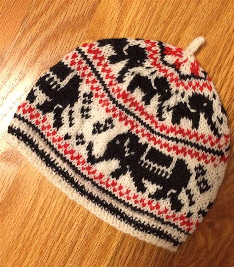 elephant hat knitting pattern elephant knitting patterns in the loop knitting