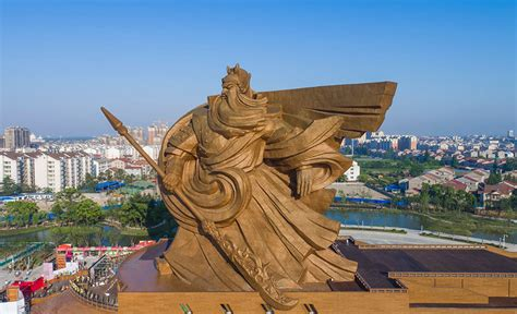 god statue china unveils epic 1 320 ton god of war statue bored panda