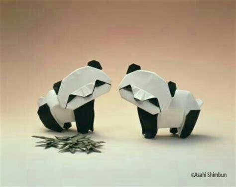 origami panda panda origami おりがみ