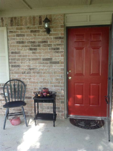 sherwin williams fireweed red home designs pinterest