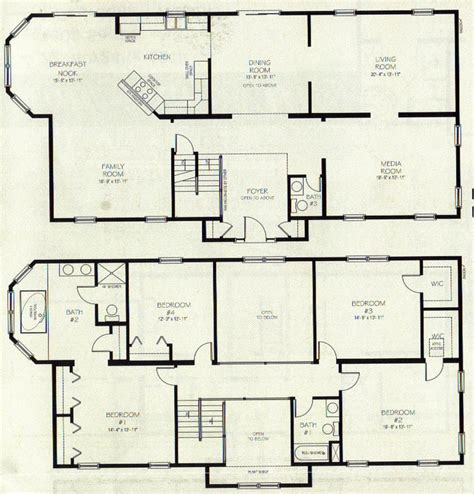 two storey residential building floor plan two storey house plans on storey house